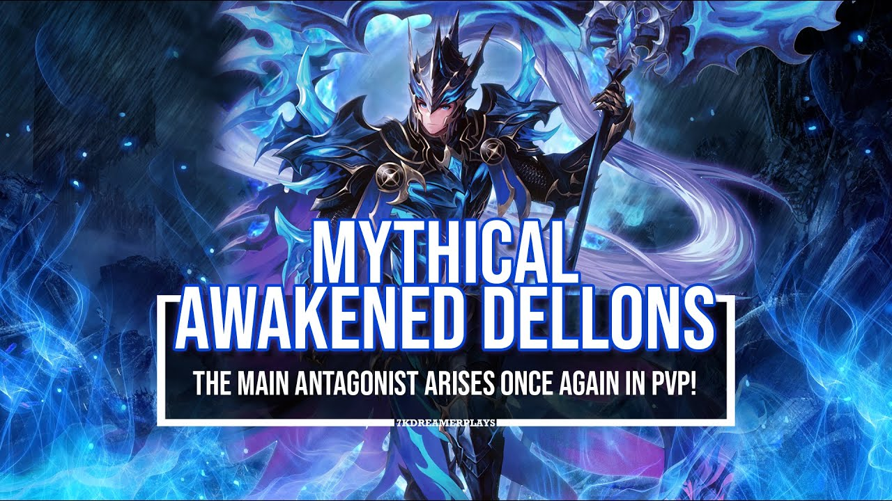 [SEVEN KNIGHTS] MYTHICAL AWAKENED DELLONS ~2 Comp Arena Test!~