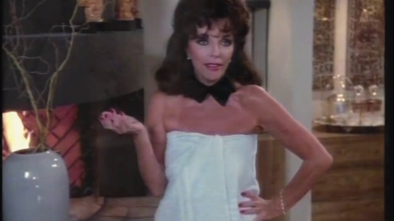 Joan Collins What Did She Wear On Dynasty Season 9 Youtube