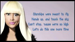 Nicki Minaj- Starships lyrics (Clean Version)