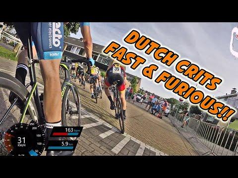 This is DUTCH CRITERIUM RACING! - Slag van Ambacht 2019 pro/elite