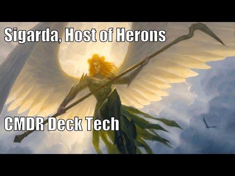 Chris' Sigarda, Host of Herons CMDR Deck [EDH / Commander / Magic the Gathering]