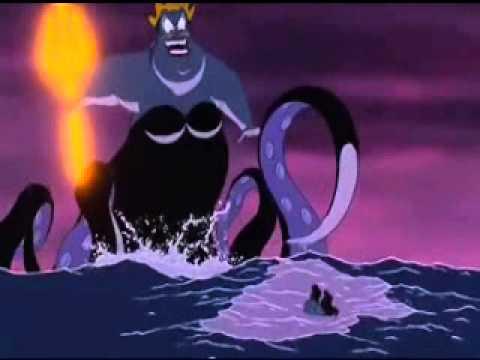 The Little Mermaid Final Battle Speed Up/Slowed Dowm