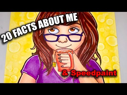 20 Facts About Me! | MEET THE ARTIST