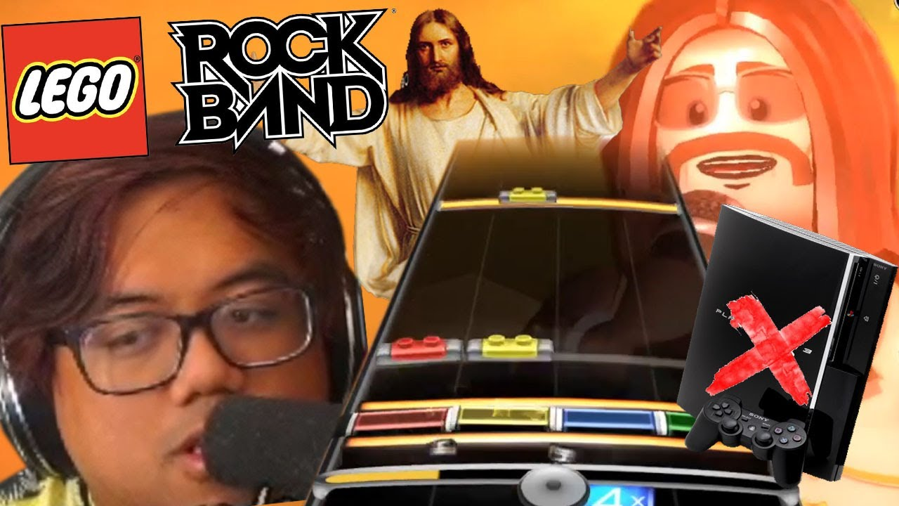 PS3 HAS NO GAMES - LEGO Rock Band (DRUMS) Full Playthrough Episode 3