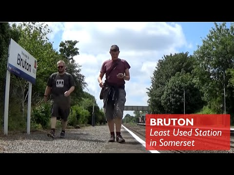Bruton - Least Used Station in Somerset