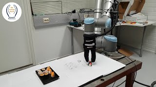 Robotized solution for packing sushi   Robotsu