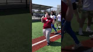 Epic home run victory dance spreads smiles