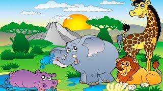 Мультик Про Зоопарк (часть 1) ♦ Обучающий Мультик Для Детей ♦ #мультик(ПОДПИСЫВАЙТЕСЬ на канал