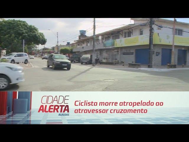 Ciclista morre atropelado ao atravessar cruzamento, em Tabuleiro do Martins