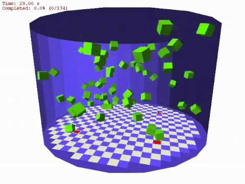 Stochastic Modular Robotic Systems: A Study of Fluidic Assembly Strategies (updated)