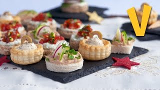 Mixed Cream Cheese Appetisers