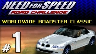 NFS High Stakes / Road Challenge [PS1] - Part #1 - Worldwide Roadster Classic