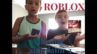 ROBLOX boxing simulator 2