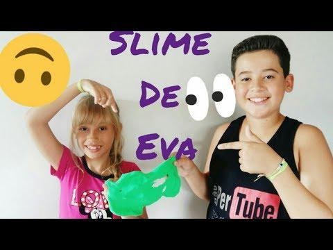 Slime de EVA !!!