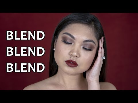 EASY FALL MAKEUP | VAMPY NO WINGED LINER thumbnail