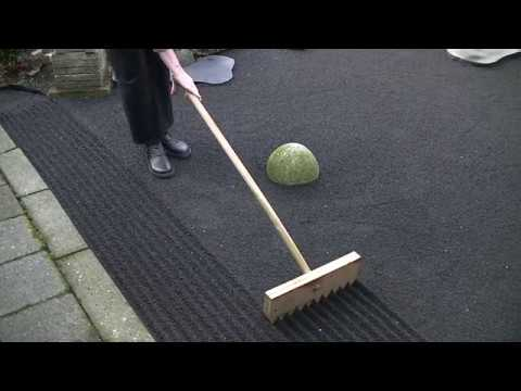 Autumn Zen Garden raking