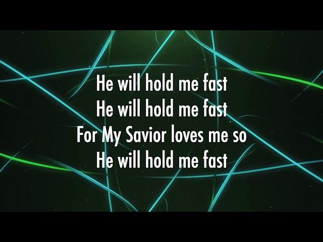 He Will Hold Me Fast - Shane & Shane (Lyrics)