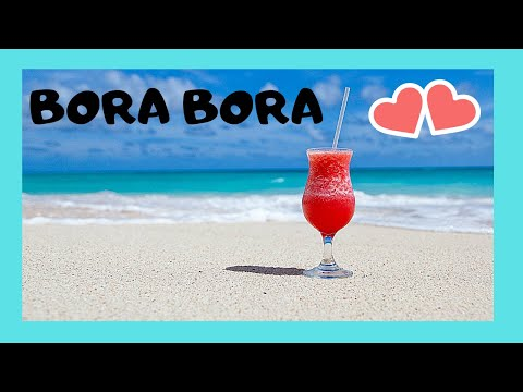 Bora The Spectacular Matira Beach And Turquoise Color Of Sea You