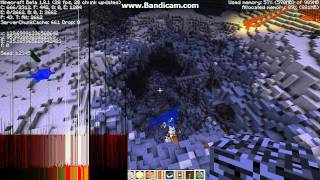 Minecraft - Fun with explosives - The great wall of TNT!! HD