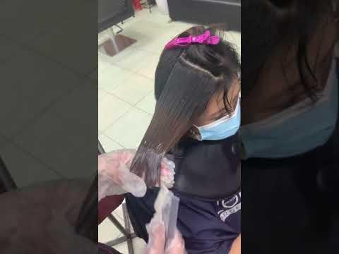 Phần 1 : nhuộm nâu ánh khói trên tóc 3 khúc màu ( bù màu – nhuộm cân bằng ) | Bao quát các kiến thức liên quan đến nâu ánh cam chi tiết nhất