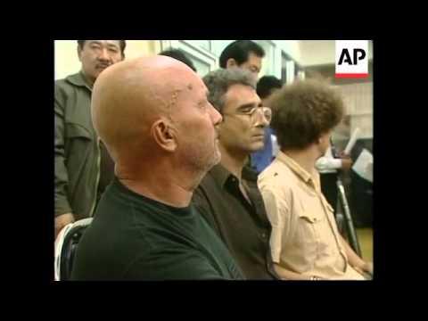 THAILAND: ALLEGED MURDERER ARRESTED