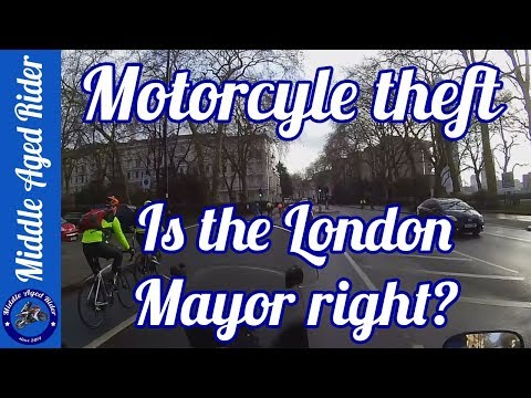 Motorcycle Theft - Is The London Mayor Right?