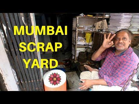 Street Scrap Mumbai Style - Worlds Smallest Scrap Yard?