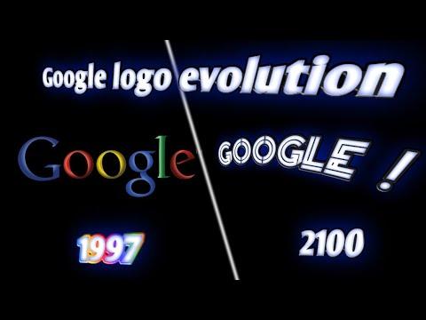 Google logo evolution 1997 - 2100