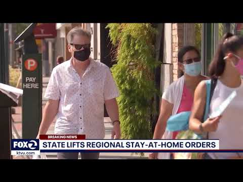 California lifts regional stay-at-home order