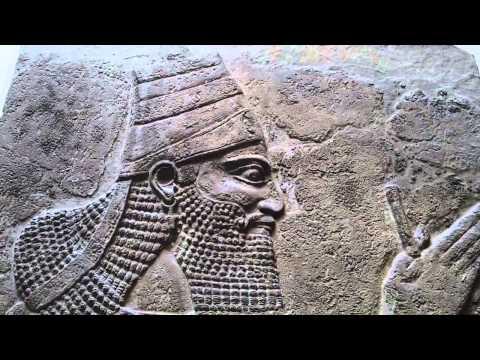 British Museum 20th movie Tiglath-pileser III the King Nimrud central Palace Assyrian 728 BC  London