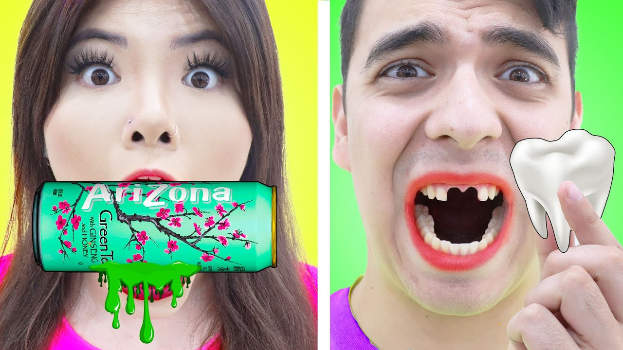 FAKE VS REAL FOOD CHALLENGE | FUNNY FOODS PRANKS AND HACKS BY CRAFTY HACKS