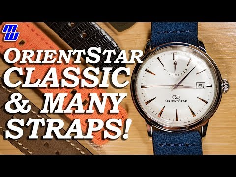 Awesome Orient Star Classic Strap Changes!