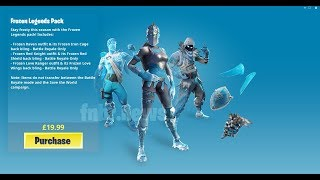 Fortnite Frozen Legends Pack Giveaway