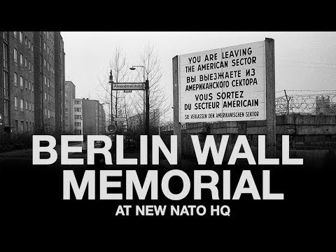Europe reunited – why pieces of the Berlin Wall now stand at NATO's new HQ