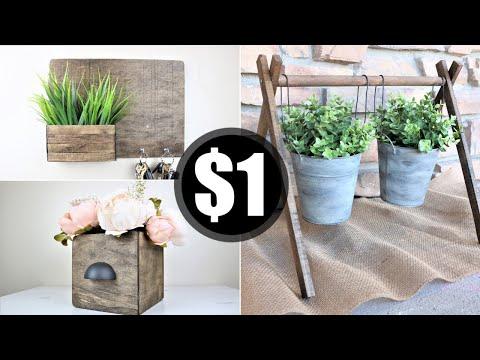 Diy Home Decor | Dollar Tree DIY | *DECORATE ON A BUDGET*