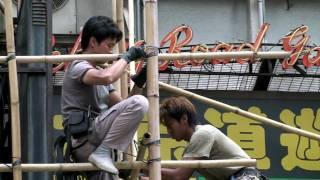 Hong Kong Bamboo Scaffoldings