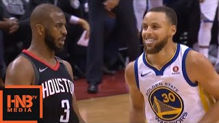 """Chris """"shimmy"""" Paul, Stephen Curry appreciated / Rockets vs GS Warriors Game 5"""