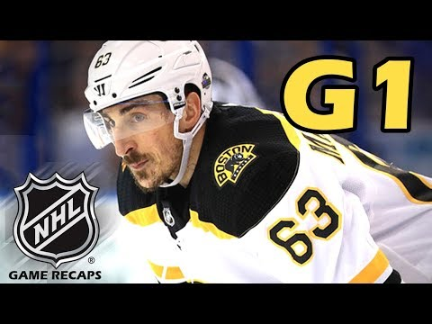 Boston Bruins vs Tampa Bay Lightning. 2018 NHL Playoffs. Round 2. Game 1. 04.28.2018. (HD)
