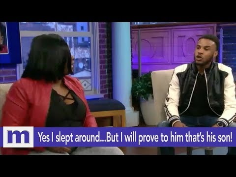 Yes I slept around...But I will prove to him that's his son! | The Maury Show