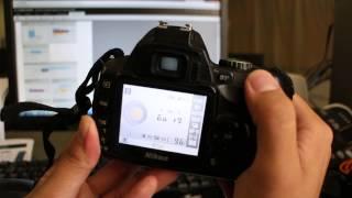 Nikon D40 D40X Settings