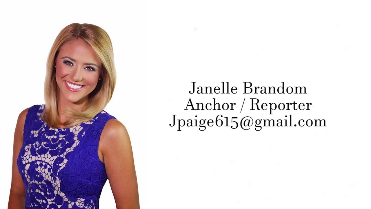 anchor reporter resume reel janelle brandom youtube
