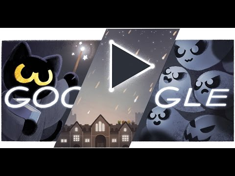 Halloween 2016 Google Doodle Halloween 2016 Doodle Game Level 1 20 Youtube