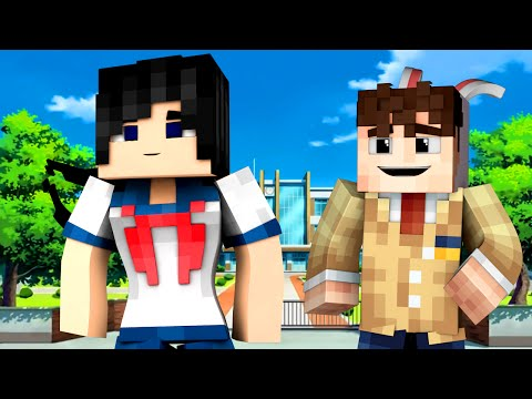 Thumbnail: Yandere High School - FIRST DAY! (Minecraft Roleplay) #1