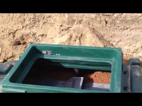 New septic system - Ecoflo Installation