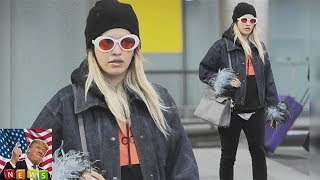 And Rita Ora appeared to have a spring in her step  Rita Ora oozed airport chic in London Heathrow