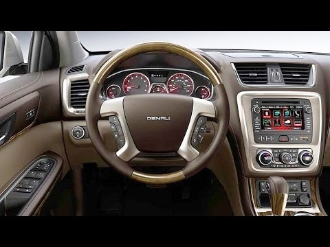 GMC - 2015 GMC Acadia Denali Interior - YouTube