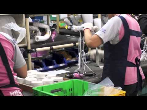 Giant Bicycles Taichung Factory Tour
