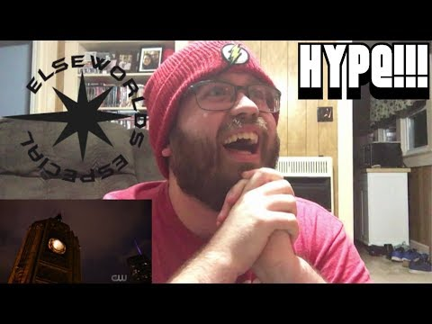 The Flash 5x9 ELSEWORLDS PART 1 Reaction/Review!!! (HYPE!!!)