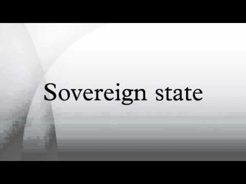 Sovereign state