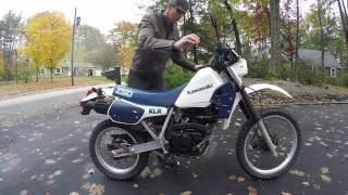 Kawasaki KLR 250 Quick Overview